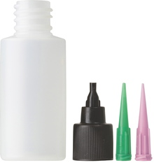 APPLICATOR BOTTLE, CAP & NEEDLES