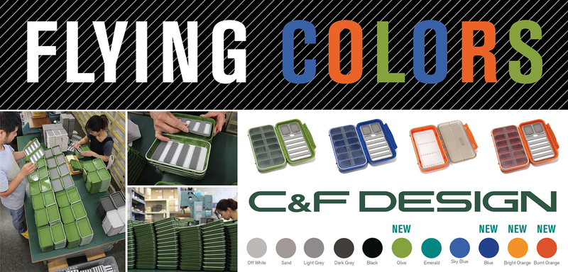 C&F Design - New Fly Boxes